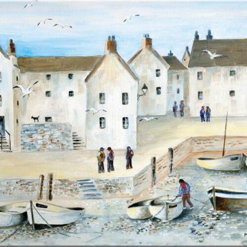 Deska szklana kolekcji Cornish Harbour