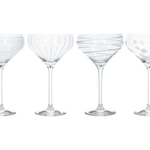 Kpl.4 kieliszków do szampana marki Mikasa