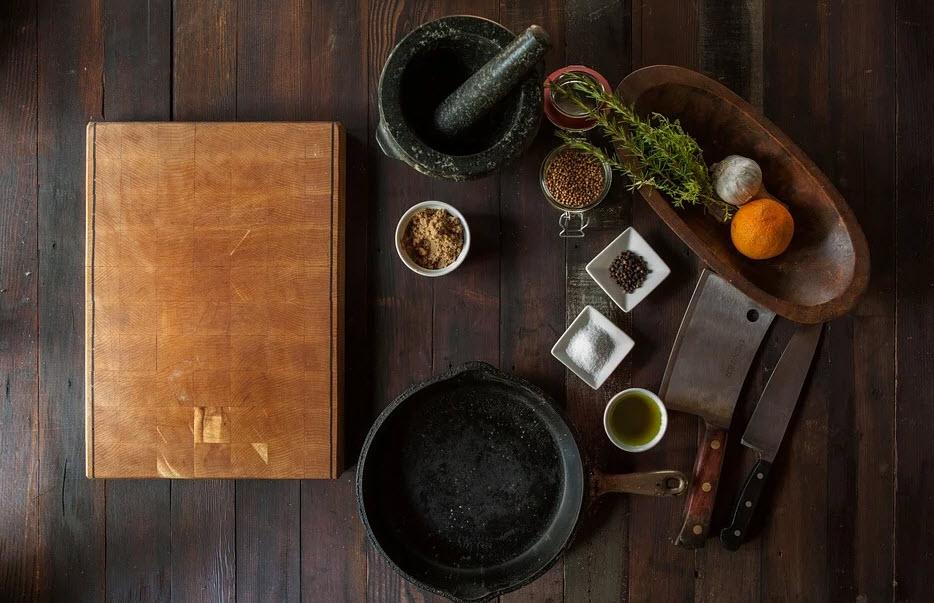 Akcesoria do przygotowania posiłków